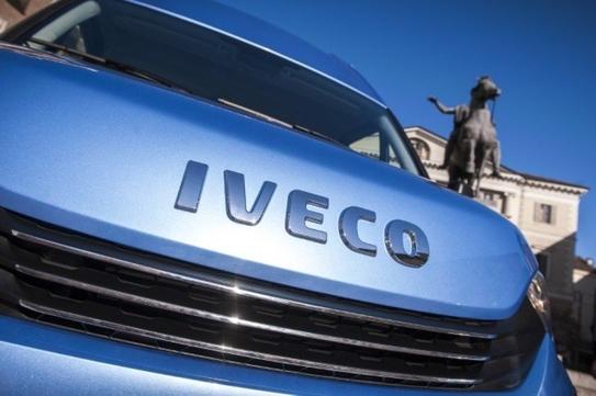 IVECO Daily - gdzie znaleźć numer VIN?